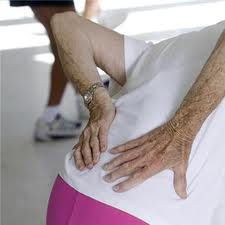 Lower back pain is common with lumbar degenerative disc disease