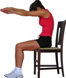 Neck stretches reduce tight neck muscle spasms that cause neck pain