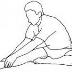 Hamstring stretches are importatnt to reduce excessive pulling in the low back and pelvis.