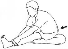 Hamstring stretch is a good daily low back exercise